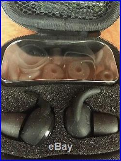 2605 Walker's Game Ear In-Ear Razor Silencer Electronic Earbud Set 25dB GWP-SLCR