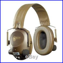 3M MT15H67FB Peltor SoundTrap Slimline Earmuff, Tactical Electronic Headset, Hea