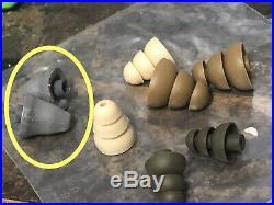 3M PELTOR Electronic Ear Plug, Green, EEP-100 UltraFit Eartips Noise Reduction
