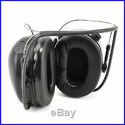 3M PELTOR TacticalPro Communications Headset MT15H7B SV, Neckband, 1 EA/Case