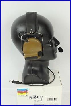 3M Peltor COMTAC III ACH Tactical Comm Headset Headband Kit P/N 88078-00000 NEW