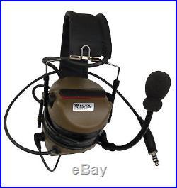 3M Peltor COMTAC III ACH Tactical Comm Headset Headband Kit P/N 88078-00000 SWAT
