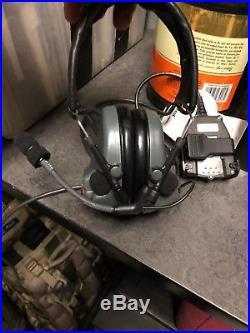 3M Peltor ComTac ACH Communication headset with PTT- MBIJR, MT17H682FB-47FG