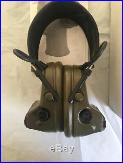 3M Peltor ComTac II Military Headset Witho Mic OD Green MT15H69FB-09 SF