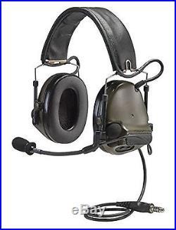 3M Peltor ComTac III Electronic Headset FB Single Comm NATO Olive Drab MT17H6