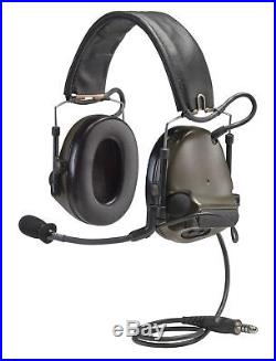 3M Peltor ComTac III Electronic Headset FB Single Comm Olive MT17H682FB-47 GN