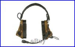 3M/Peltor, ComTac V, Electronic Earmuff, Headband, Foldable, Boom Microphone
