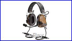 3M Peltor MT17H682FB-19 CY Brown Two-Way Radio Headset