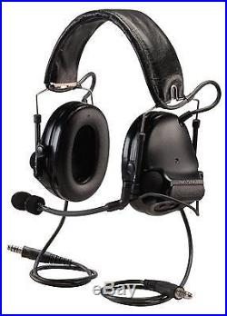 3M Peltor MT17H682FB-19 SV ComTac III Electronic Headset FB Dual Comm NATO Black