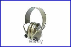 3M Peltor Soundtrap Slimline Electronic Headset Olive Green MT15H67FB