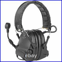 3M/Peltor SwatTac VI Electronic Earmuff Omni-Directional Microphone Cushions ARC
