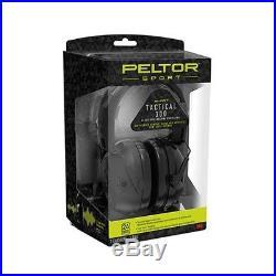 3M Peltor TAC300-OTH Black Sport Tactical Electronic 300 Gun Shooting Earmuffs