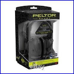 3M/Peltor TAC500-OTH Black Sport Tactical Electronic Earmuff 500 (NRR 26)
