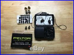 3m Peltor TEP 100 Electronic Ear Plugs Gently Used Complete Kit With Charger