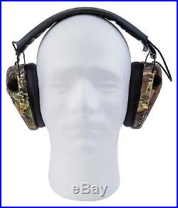 Caldwell Low Profile E-Max Electronic Ear Muffs Mossy Oak Break Up