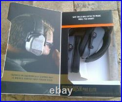 Champion 40982 Vanquish PRO ELITE Electronic Earmuffs Range And Target GRAY