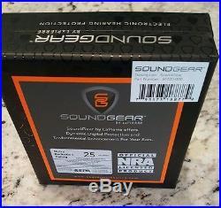 Digital Shooting Ear Plugs SoundGear Instant Hear Clearly, Suppress Gun Noise