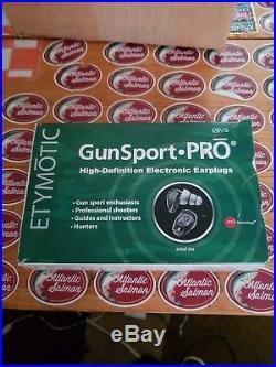 ETYMOTIC Gunsport-PRO Electronic Ear plugs Hearing Protection, Shooting Hunters