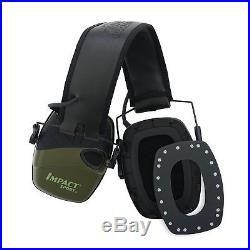 Electric Ear Muffs Shooting Protection Noise Cancelling Head Gear Impact Sport