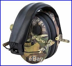Electronic Ear Muffs Hearing Protect Noise Earmuffs Shooting Hunting Mossy Oak