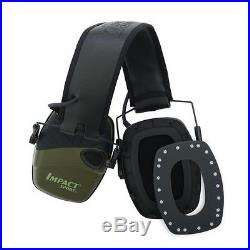Electronic Ear Muffs Shooting Protection Noise Cancelling Head Gear Impact Sport