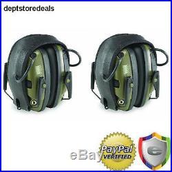 Electronic Earmuff Ear Protection Sport Hunting Shooting 2-pc Hearing Earmuffs