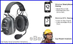 Elvex ComConnect Wireless Sync & Communication (Bluetooth) Electronic Earmuffs