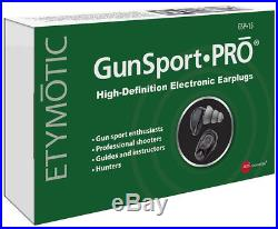 Etymotic Research GSP15 GunsportPRO High-Definition Electronic Earplugs