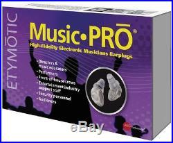 Etymotic Research MP 915 Music Pro Electronic Earplugs