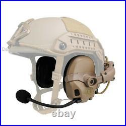 FMA&FCS AMP Headset Noise Reduction Rail Attached AMP Highcut V60 PTT Tactical