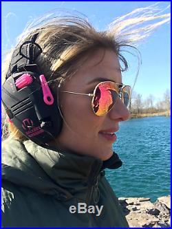 Game Razor Slim Electronic Ear Muffs Gun Shooting Range Hearing Protection