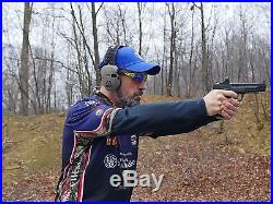 Game Razor Slim Electronic Ear Muffs Gun Shooting Range Hearing Protection Earth