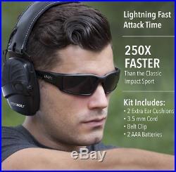 Howard Leight Impact Sport Bolt Digital Electronic Shooting Earmuff