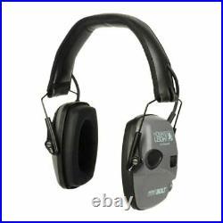 Leight Impact Sport Bolt Electronic Earmuff Shooting Ear Protection Gray -R-0223