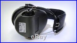 Msa Sordin Supreme Pro-x/l Green Cups Leather Headband, Electronic Earmuff