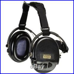 MSA Safety Ear Muffs Sordin Supreme Pro With Black Cups Neckband Electronic