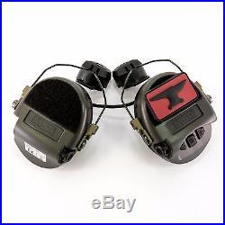 MSA Sordin Supreme PRO-X EAR Protection with Sordin Arc Rail Adapters (SARA)-BLACK