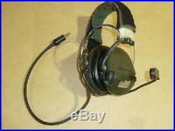 MSA Sordin Supreme Pro 75310 USGI COMMS HEADSET PTT 5895-01-518-8822 SF SOF PJ