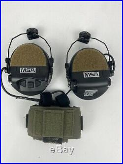 MSA Sordin Supreme Pro Electronic Ear Protection With Unity Tactical Mounts
