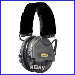 MSA Sordin Supreme Pro-X, Black, with Gel Earseals