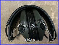MSA Sordin Supreme Pro X Earmuff, Black Leather Band Headset, Gel Inserts