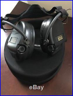 MSA Sordin Supreme Pro-X, Neckband Black withHard Case