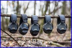 MSA Sordin Supreme Pro X Premium Edition Electronic Earmuff with black he