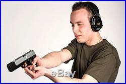 MSA Sordin Supreme Pro X Premium Edition Electronic Earmuff with black leath