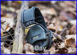 MSA Sordin Supreme Pro X Standard Edition Electronic Earmuff with black cups