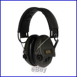 MSA Sordin Supreme Pro X Standard Edition Electronic Earmuff with black leat