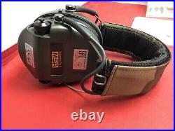 MSA Sordin Supreme Pro X Waterproof Ear Muff Green/Camo USED