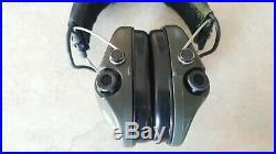 MSA Sordin Supreme Pro X Waterproof Ear Muff od green gel pads camo cover