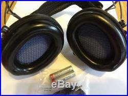MSA Sordin Supreme Pro X with black cups Neckband Electronic Earmuff