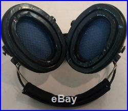 MSA Sordin Supreme Pro X with green cups Neckband- Electronic Earmuff